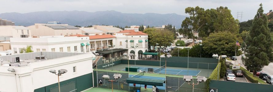 Frontline's office at Toluca Lake Tennis Club